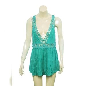 Intimately Free People Betty Romper S Flared 11748